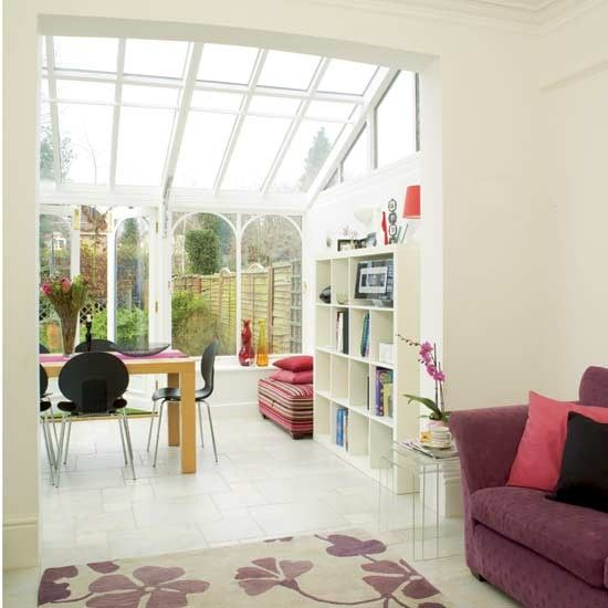 Conservatory And Glass Extension Ideas: Open-plan Conservatory