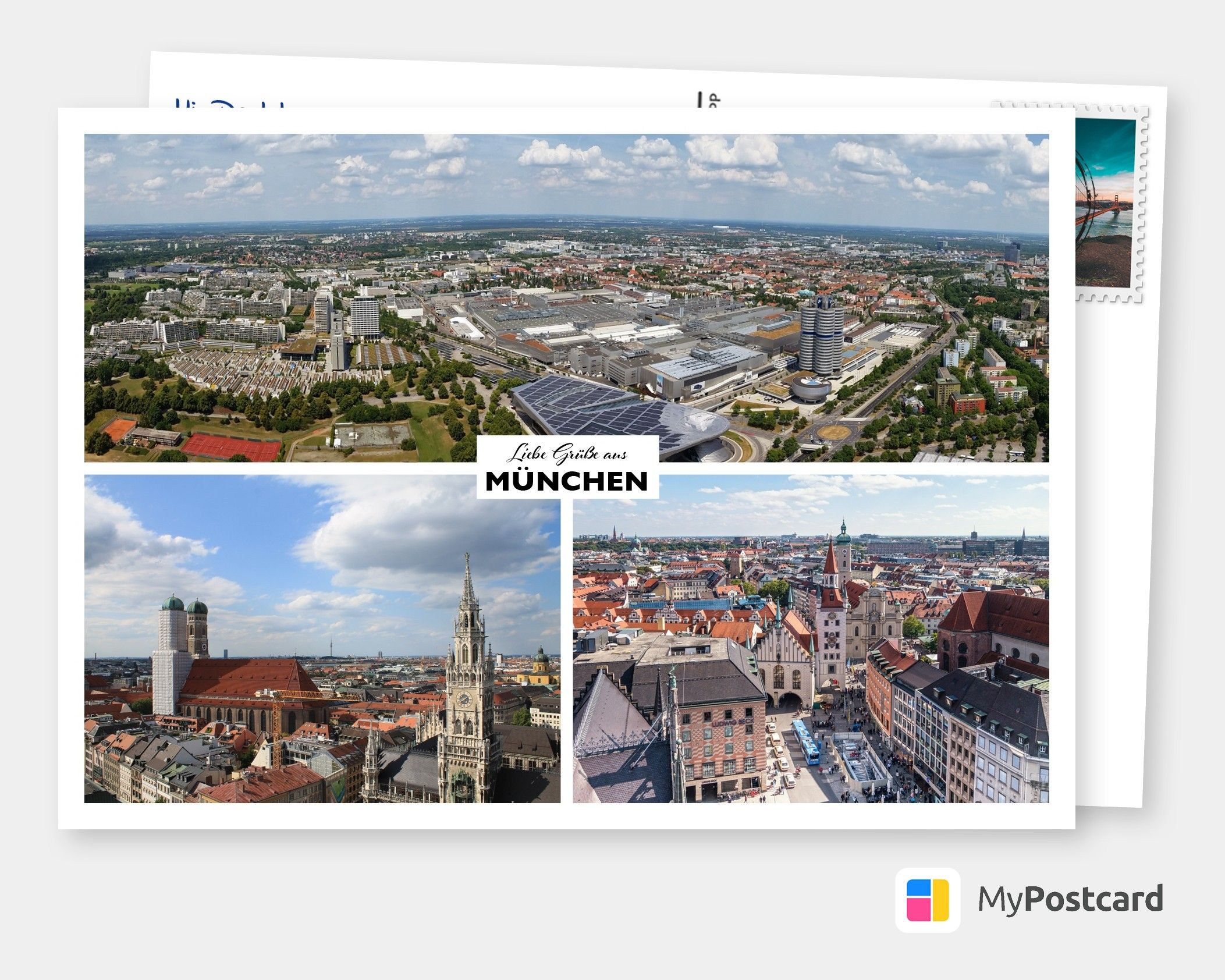 Many Greetings From Munchen Vacation Cards Quotes Send Real Postcards Online In 2020 Urlaub Grusse Urlaubsgrusse Grusskarte