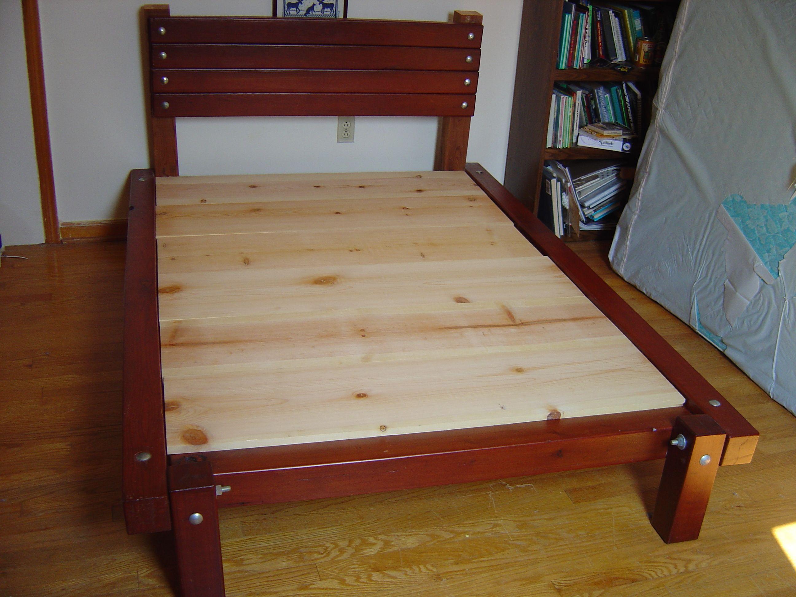 Best Wooden Platform Bed Construction Plans Diy Blueprints 640 x 480