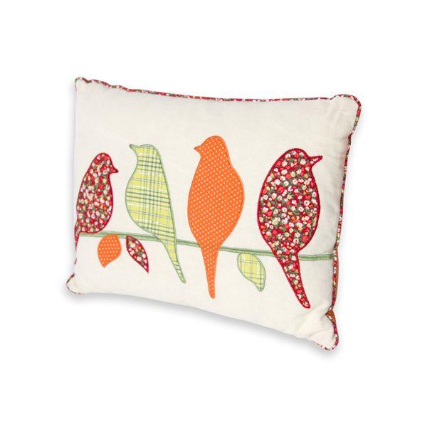 Silhouette Birds Cushion