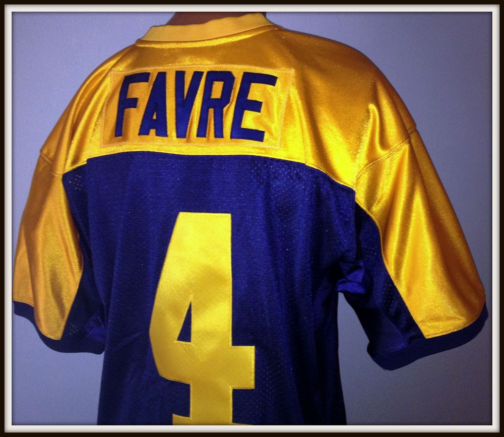 brand new c11b0 7fc96 MITCHELL & NESS BRETT FAVRE 1994 PACKERS NFL 75TH YEAR ...
