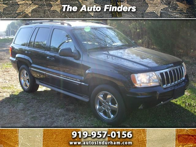 2004 Jeep Grand Cherokee Used Suv Durham Nc The Auto Finders