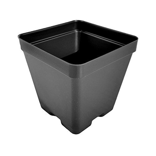 4 Inch Press Fit Flower Pots Made In Usa Reusable Recyclable Garden Greenhouse Hydroponics Seed Starting Actual Dimens Seed Starting Flower Pots Hydroponics