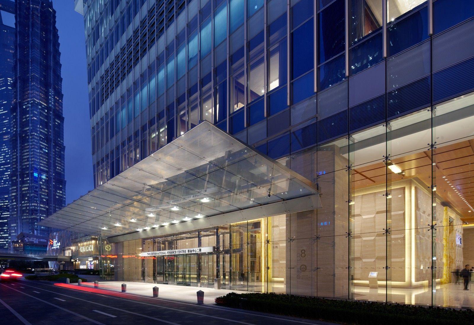 Shanghai ifc canopy pinterest shanghai canopy and for Building canopy design