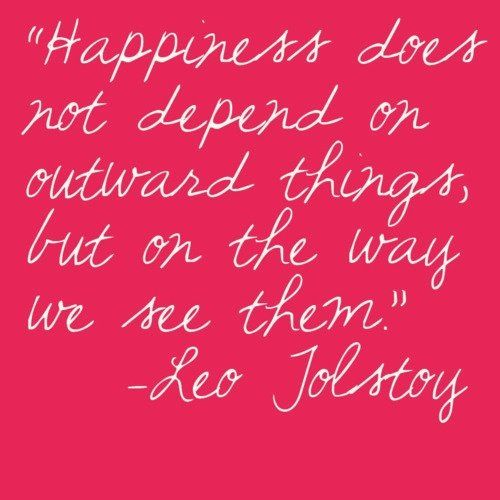 *Happiness