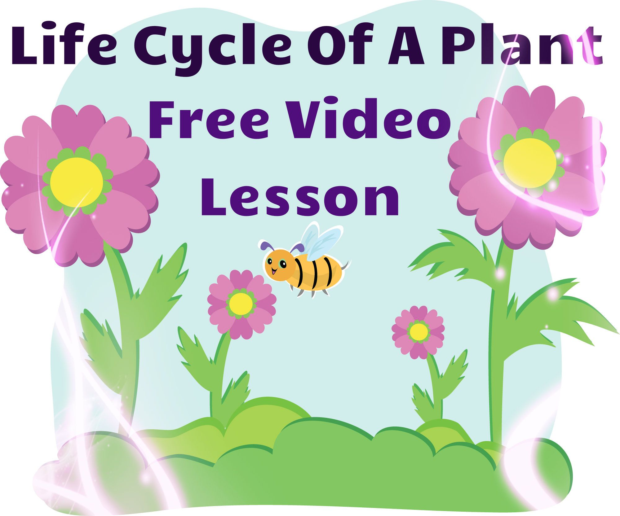 This is a wonderful video to teach children about plant growth and life  cycle! Colorful animations, read aloud text, and labeling of vocabulary  words are ...