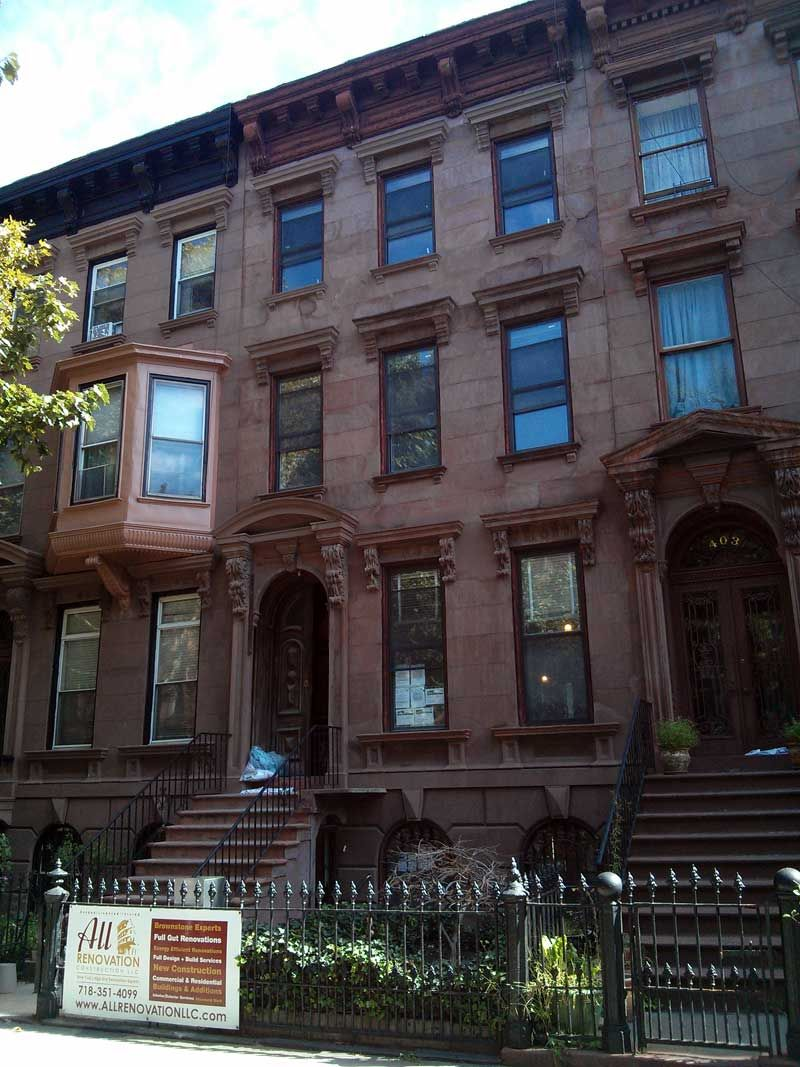 Brooklyn Brownstone Addition Completely Gut Job Three Family Townhouse In Brooklyn Brownstoner Brooklyn Brownstone Brownstone Row House