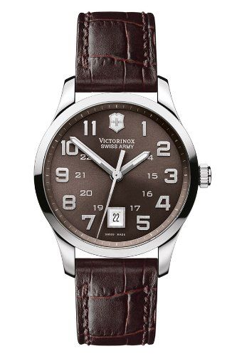 Victorinox Swiss Army Mens 241323 Classic Alliance Dial Watch * Click image to review more details. (This is an Amazon affiliate link)