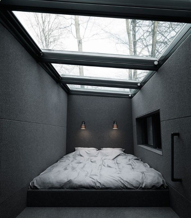 Bedroom Love Minimalist Plans container house - this stunning prefabricated house is every
