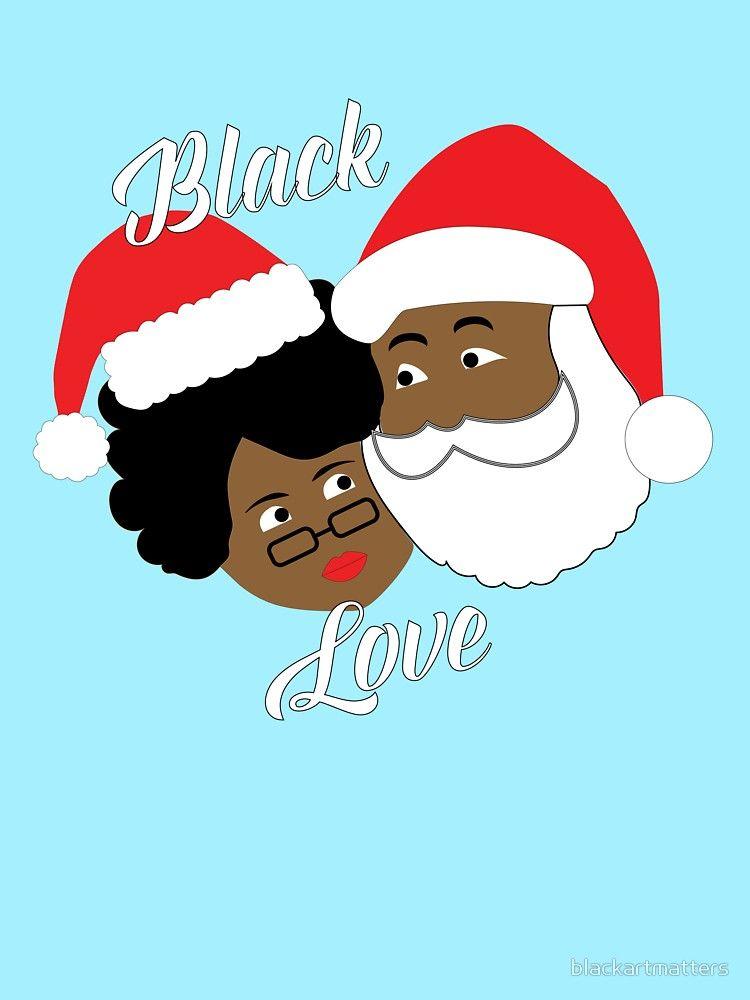 Black Santa Mrs Claus Black Love Christmas By Blackartmatters Black Santa Christmas Picture Background Black Love