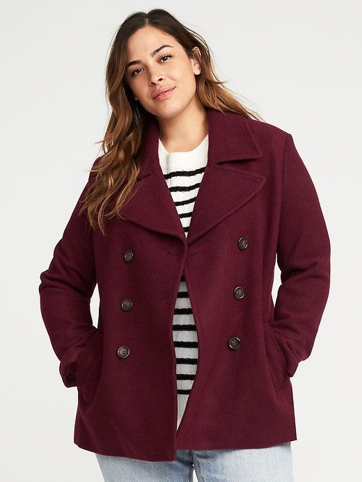 4408cf94bc33 Old Navy Classic Plus-Size Peacoat