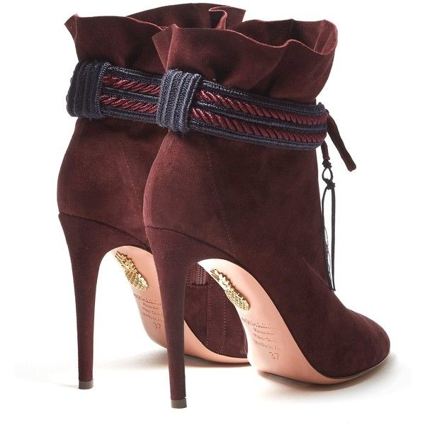 Aquazzura Pointed-Toe Ankle Boots largest supplier cheap online SAUcNT