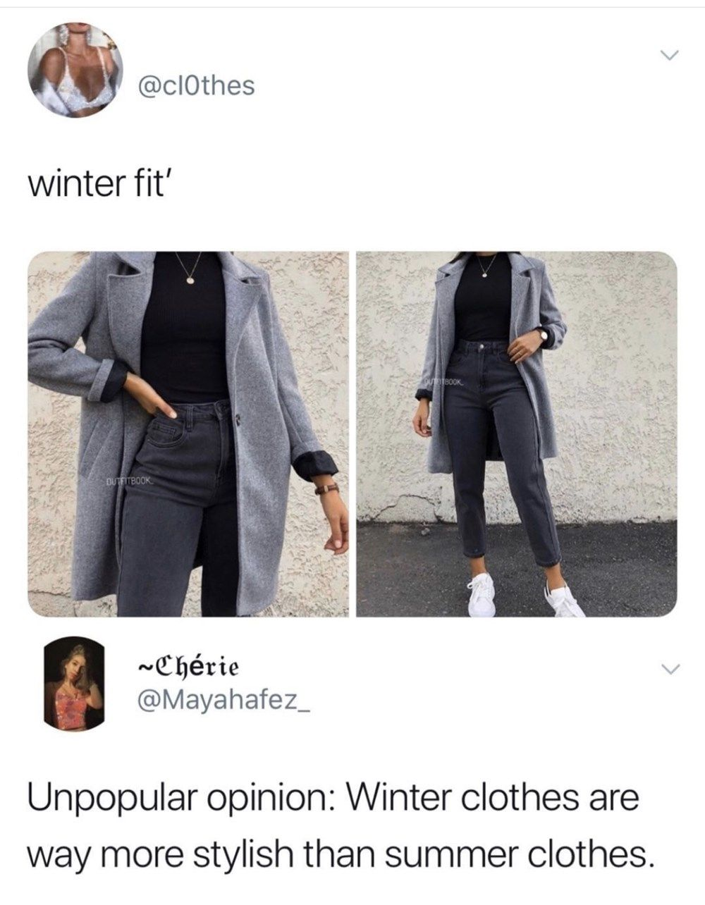 Bunch Of Random Memes That Don T Require A High Iq Winter Fits Winter Outfits Summer Outfits [ 1284 x 1000 Pixel ]