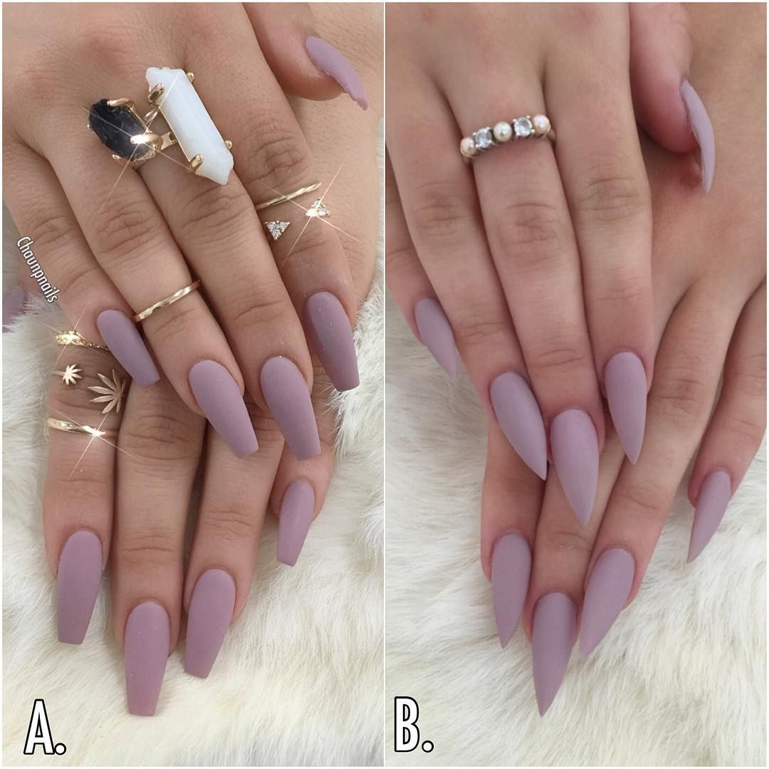 Instagram Photo By Chaun P Apr 9 2016 At 12 11am Utc Short Coffin Nails Stiletto Nails Stylish Nails