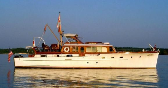 Vintage Wooden Yacht Wooden Boat Show Toledo Oregon Boat