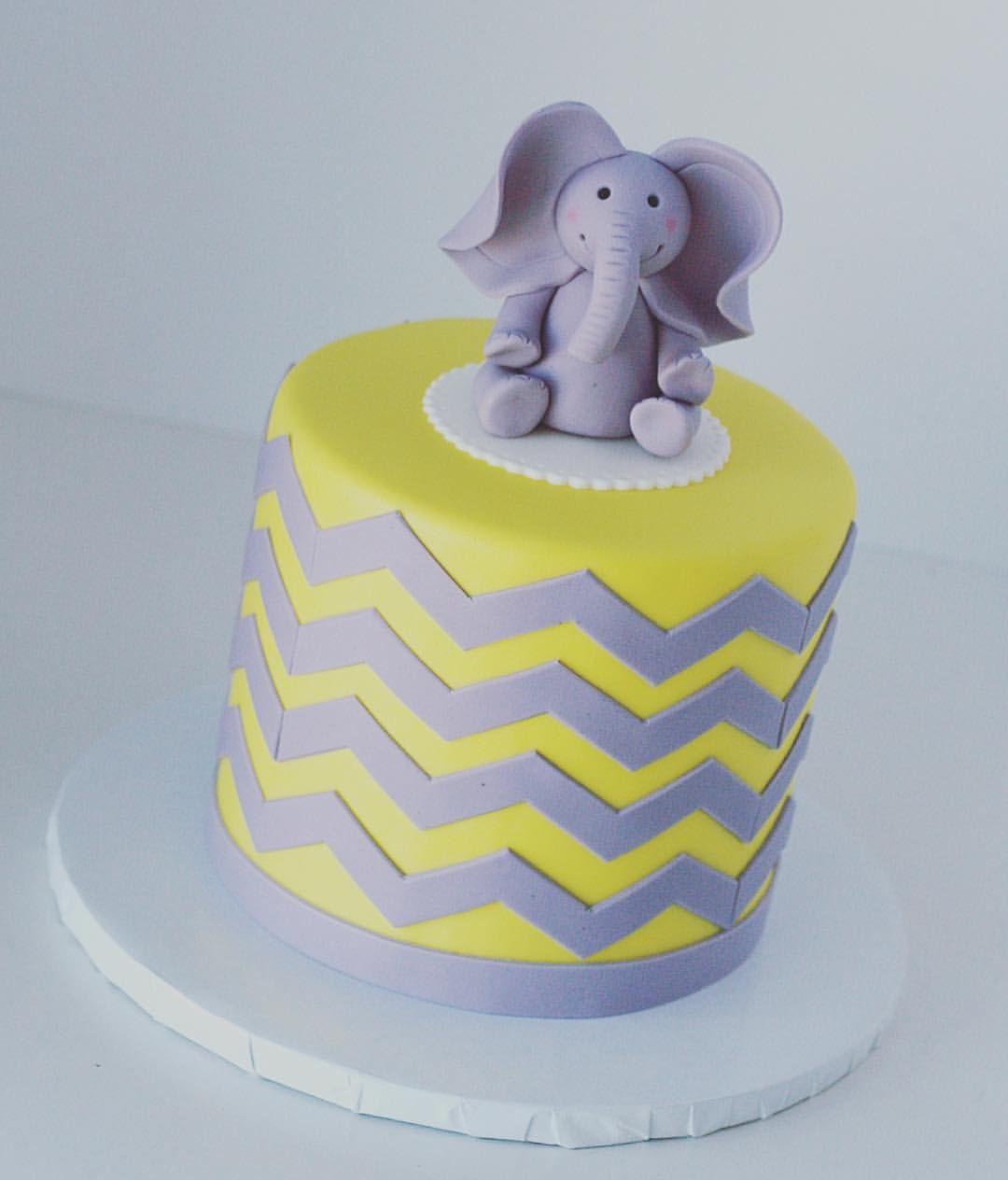 28 elephant images birthday cake