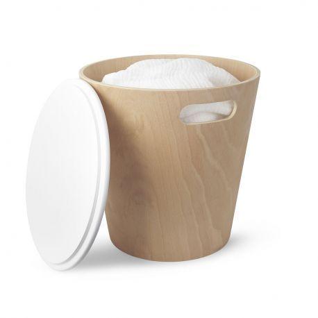 Tabouret coffre salle de bain design umbra avec images - Coffre de salle de bain ...
