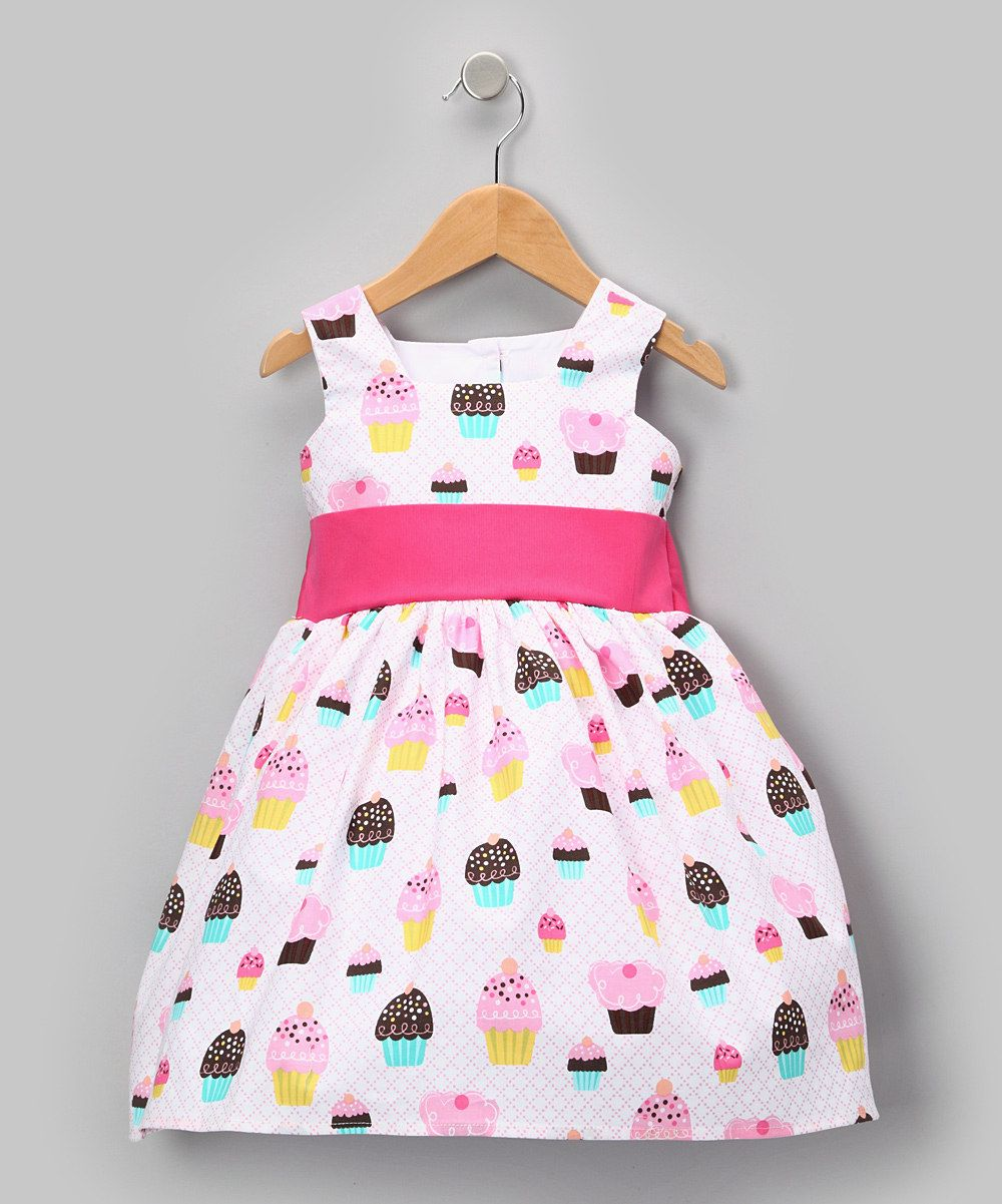 Pink Cupcake Party Dress - Toddler | Things for my little girls ...
