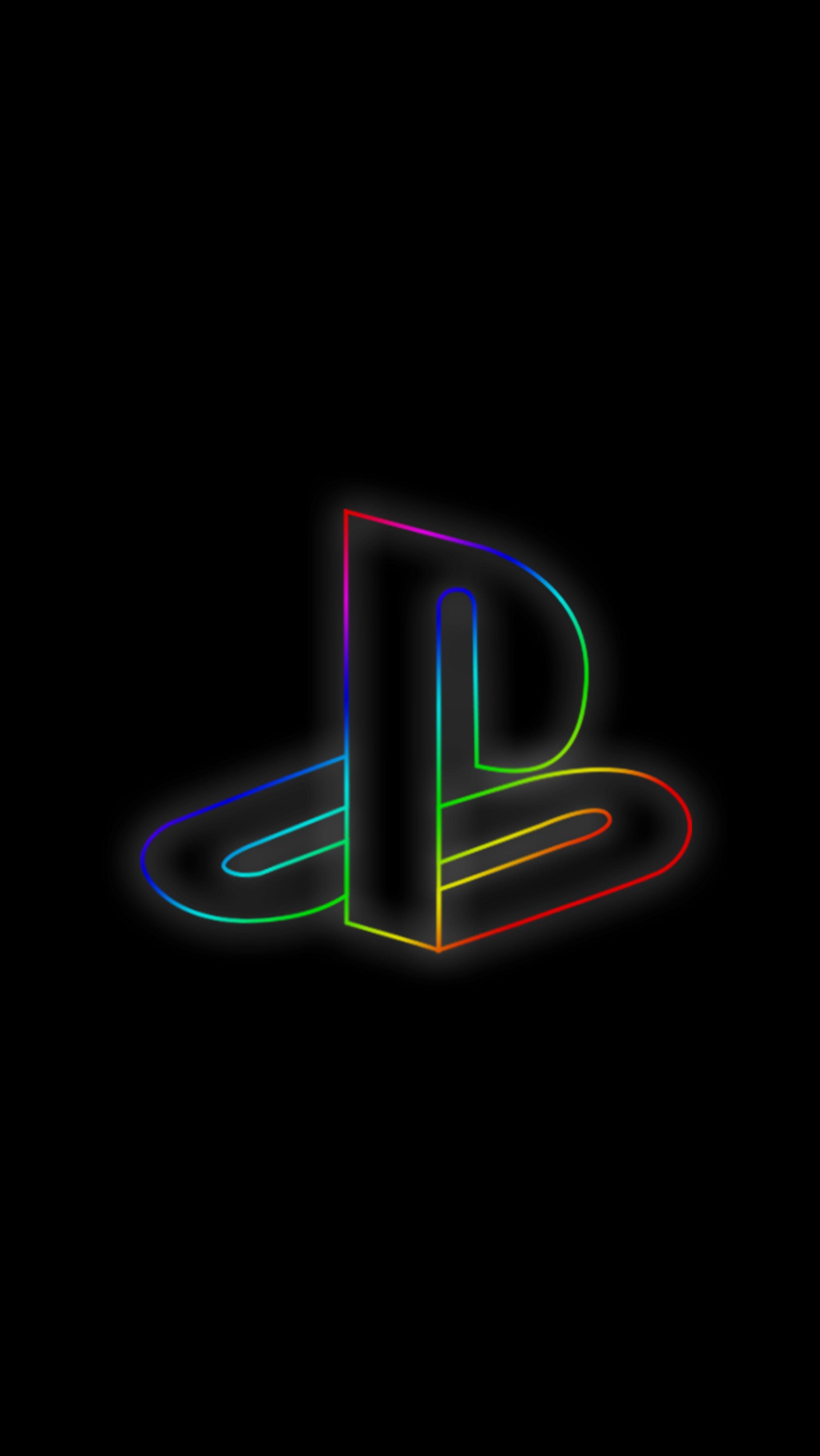 Neon Playstation Background Em 2020 Papeis De Parede De Jogos Papel De Parede Games Papeis De Parede Hd Celular