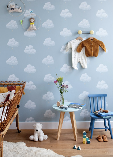 30 Beautiful Kids Bedroom Wallpaper En 2020 Idees De Papier Peint Papier Peint Chambre Idees De Design D Interieur