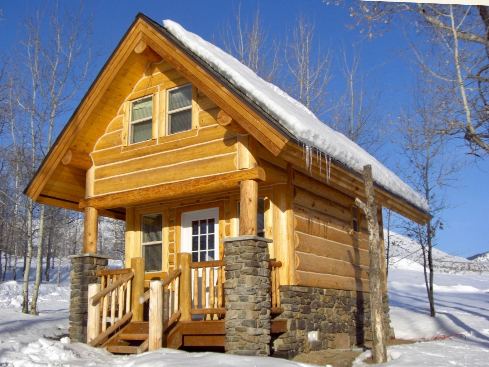 Sweet Tiny Log Cabin, Perfect For A Rustic Retreat! This One Is In Winthrop