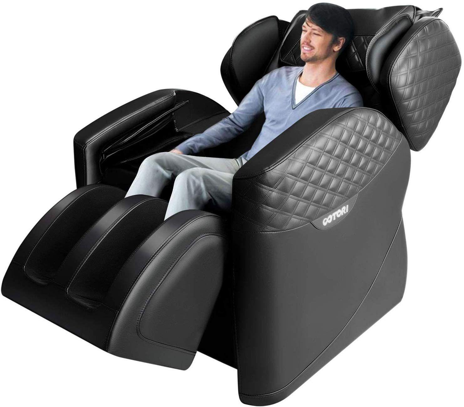 Sinoluck Massage Chair Zero Gravity Full Body Air Massage Lower Back Heating And Foot Roller Massage Chair Feet Roller Massage