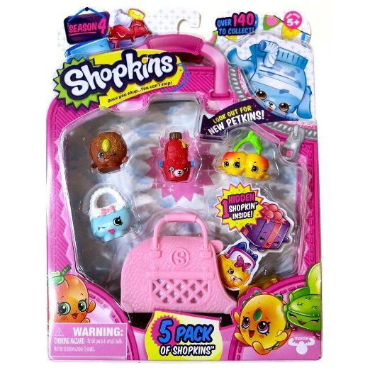 Shopkins Season 4 Toy Figure (5 Pack) https://www.amazon.com/Shopkins-Season-Toy-Figure-Pack/dp/B01739Y1KU/ref=as_li_ss_tl?s=toys-and-games&ie=UTF8&qid=1467785214&sr=1-5&keywords=Shopkins+Toys&linkCode=ll1&tag=herbcoloclea-20&linkId=8f9ce485202cb21173731fdab18b86a5