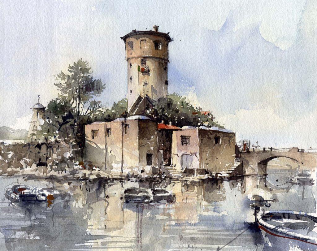 Art color rijeka - Isola Del Giglio By Tony Belobrajdic Was Born In Rijeka Croatia In