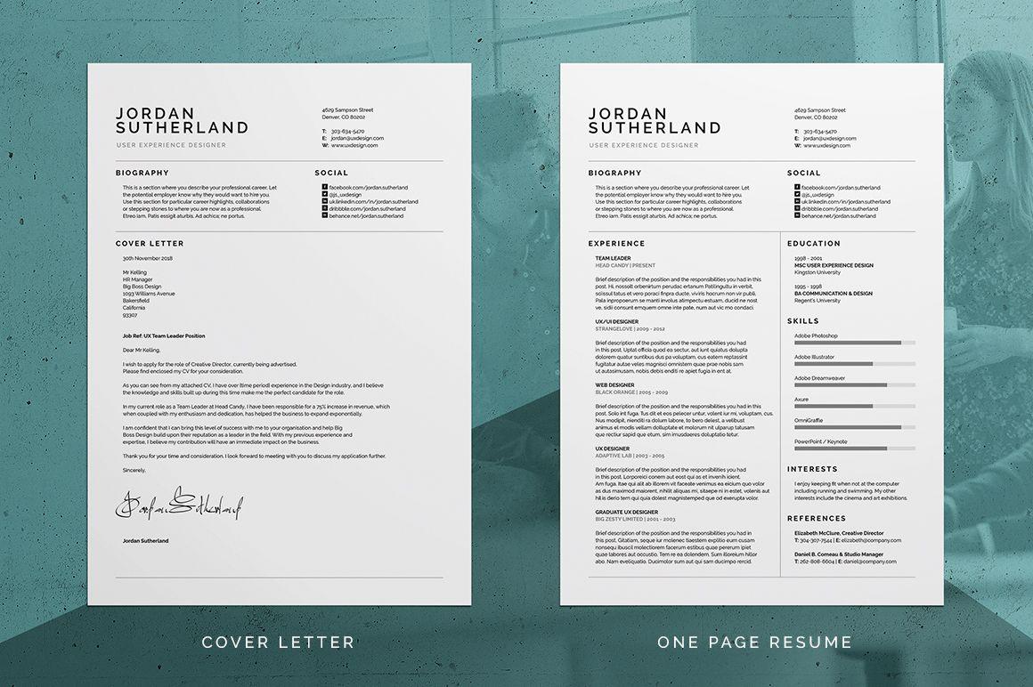 Pro ResumeCV Cover Letter u0026 Portfolio