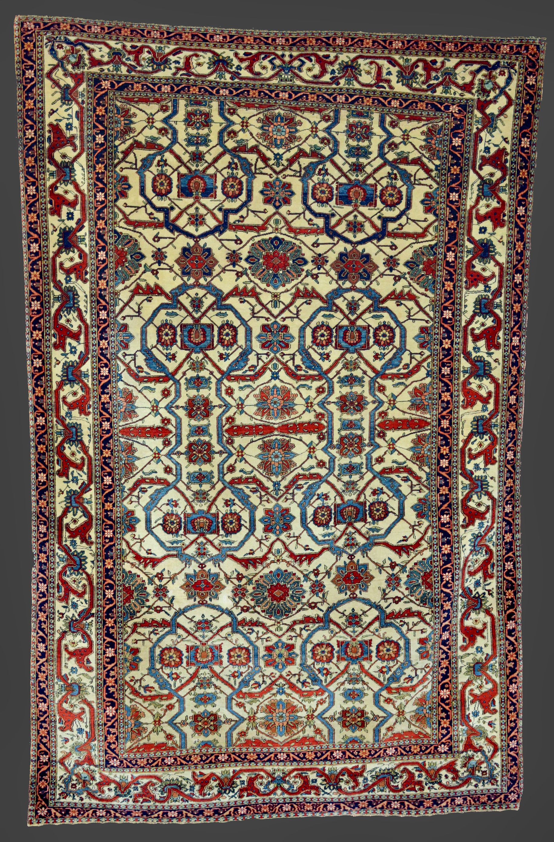 Mohtashem Keshan Rugs Represent The Pinnacle Of Persian Rug Artistry In The Last Quarter Of The 19th Century Tappeti Quadrifoglio E Design