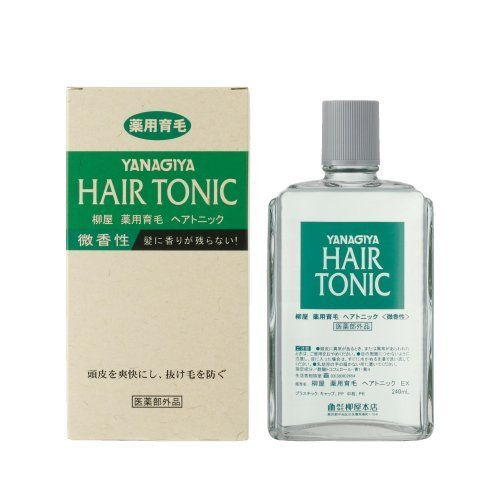 Yanagiya Hair Tonic Subtle Fragrance 240ml Japan Import By