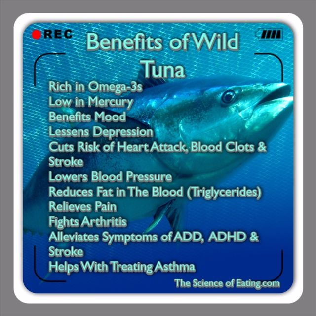 Tuna offers high amounts of omega 3 fatty acids associated for Health benefits of fish
