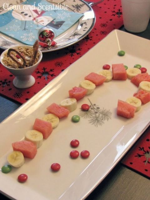 Fruit+candycane+and+20+other+fun+and+heathy+Christmas+food+ideas!