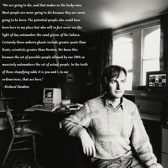 Beautiful Secular humanist, Atheist, Richard dawkins