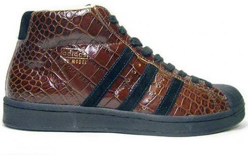 234489a53 Adidas Originals Vintage Pro Model Alligator brown black