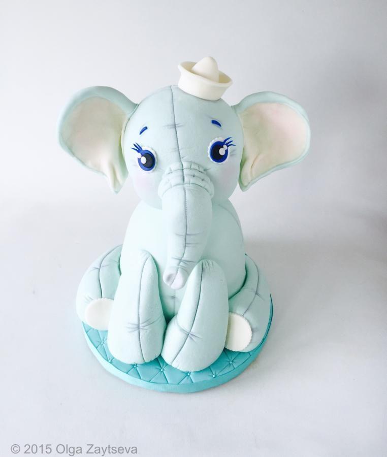 Baby Elephant Cake Decoration : Baby Elephant cake by Olga Zaytseva Cakes & Cake ...