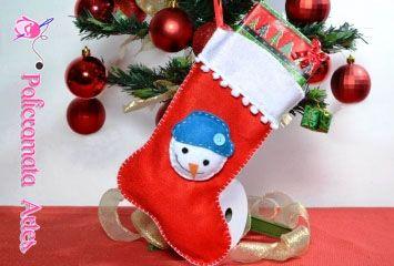Meia Natalina / Christmas stocking