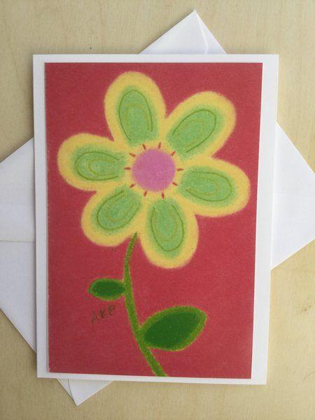 Stationery Cards Set of 10- Cherry Lemon Junior Petal
