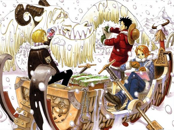 Tags: ONE PIECE, Nami, Sanji, Monkey D. Luffy