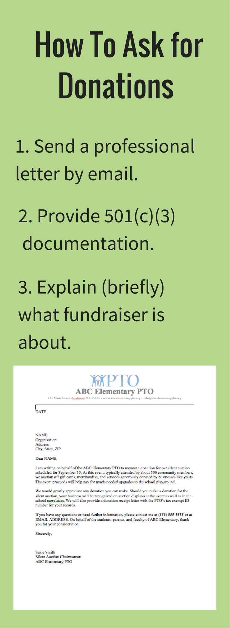 Download our free donation letter request template. | Auctions ...