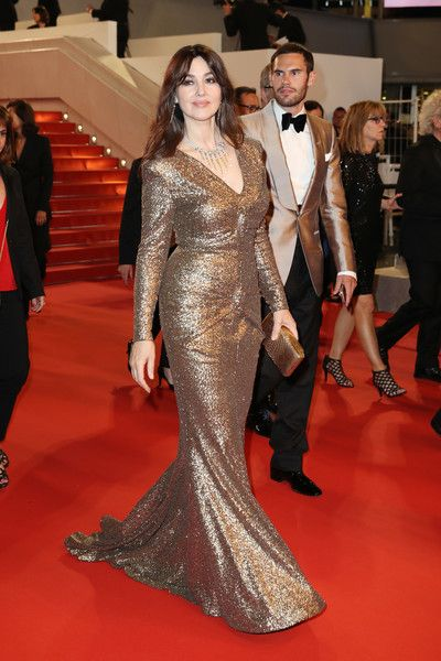 553314da350 Monica Bellucci Photos Photos - Monica Bellucci attends the 70th Anniversary  of the 70th annual Cannes Film Festival at Palais des Festivals on May 23