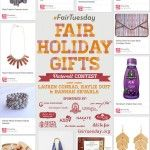 Helping Hand: My #FairTuesday Pinterest Contest