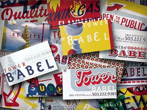 Tower of Babel Branding Identity   Branding Pinterest Tower