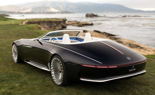 Measuring About 19 Feet Long Mercedes Maybach 6 Cabriolet Concept