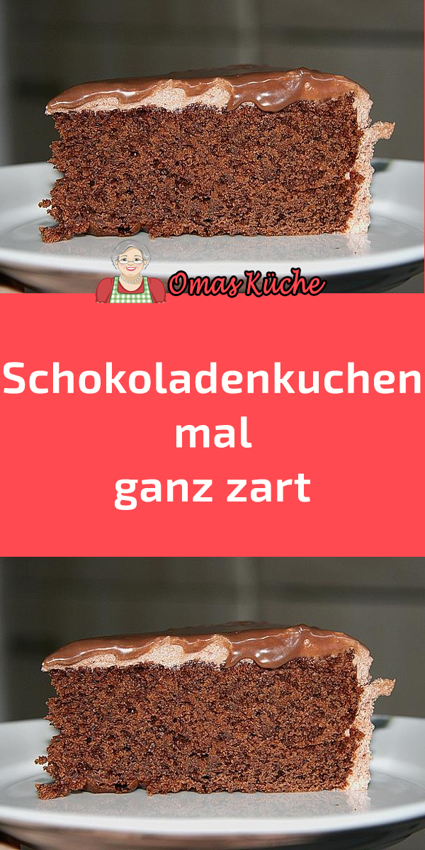 Schokoladenkuchen Mal Ganz Zart In 2020 Schokoladen Kuchen Kuchen Schokokuchen Backen