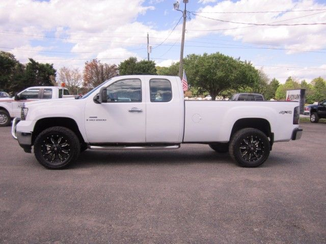 Used 2009 Gmc Sierra 2500hd Ext Cab Long Bed 4wd For Sale In