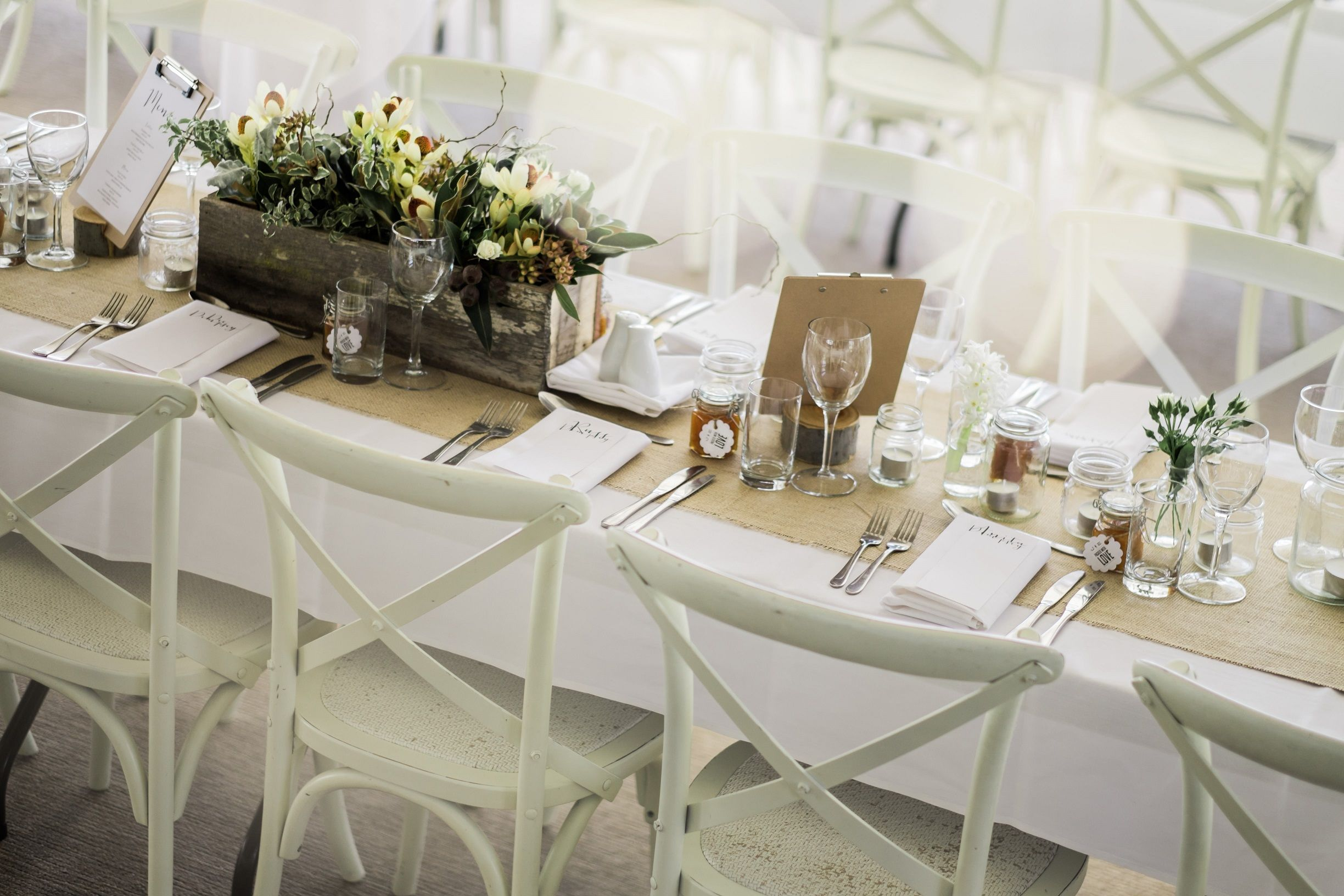 This Gorgeous Sit Down Setting Was Done By First Class Functions In