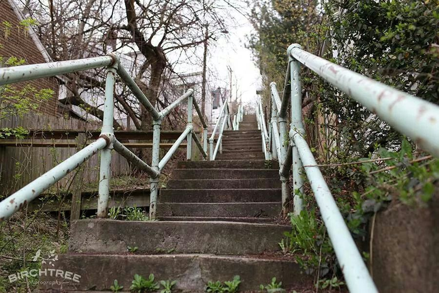 City steps, Southside Pittsburgh