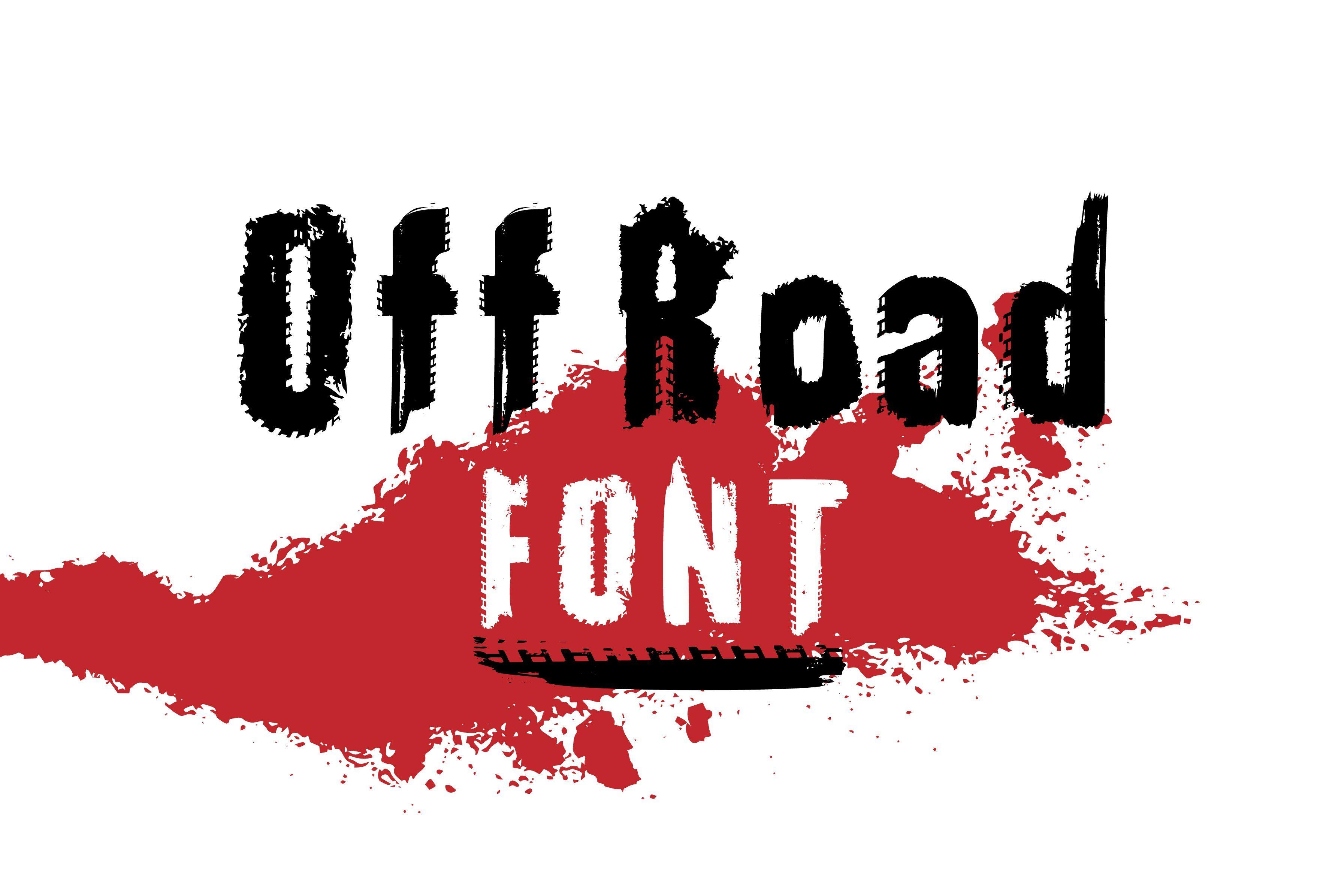 Off Road Font in 2020 Unique lettering, Road font, Fonts