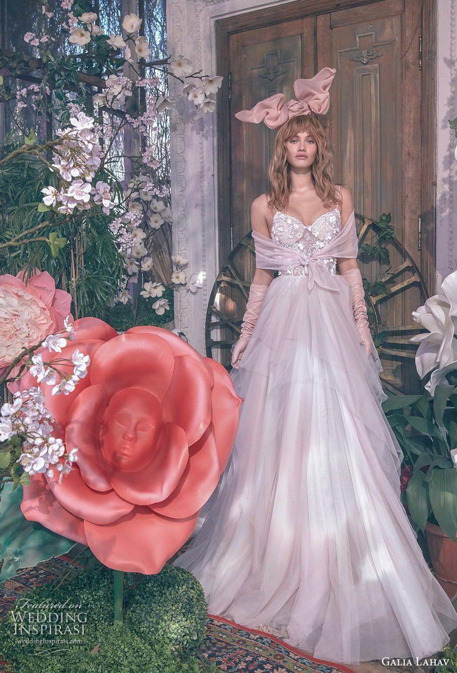 galia lahav gala 4 2018 bridal sleeveless spaghetti strap
